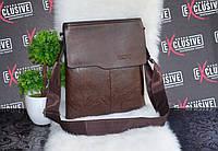 Мужская коричневая сумка., фото 1