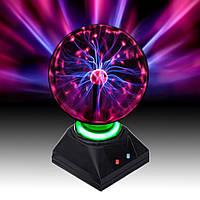 Плазменный Шар Plasma ball S, фото 1