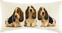 Подушка декоративная Собаки 50*25 см