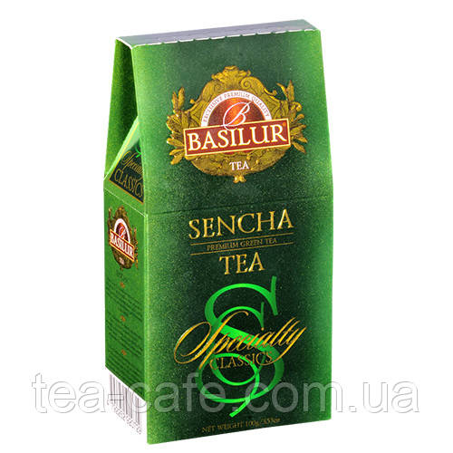 Чай зеленый Basilur Избранная классика Сенча картон 100г