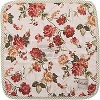 Подушка на табурет Роза красная 34x34 см La Nuit