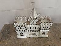 Крепость игрушечнная из фанеры