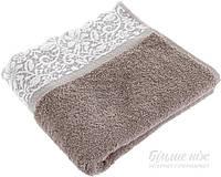 Полотенце La Nuit Milena 50x90 см коричневый