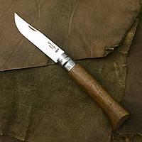 Нож Opinel №8 Inox (орех)