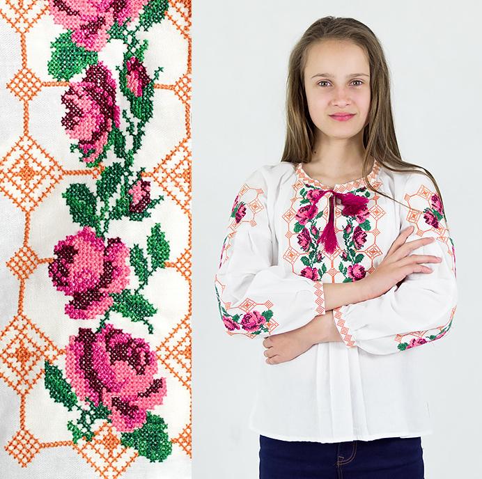 """Вышиваночка Розы"""" от 7 до 13 лет"""