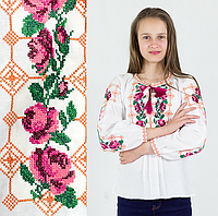 """Вышиваночка Розы"""" от 7 до 13 лет 134"""
