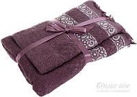 Набор полотенец La Nuit 2 шт. Alia фиолетовый