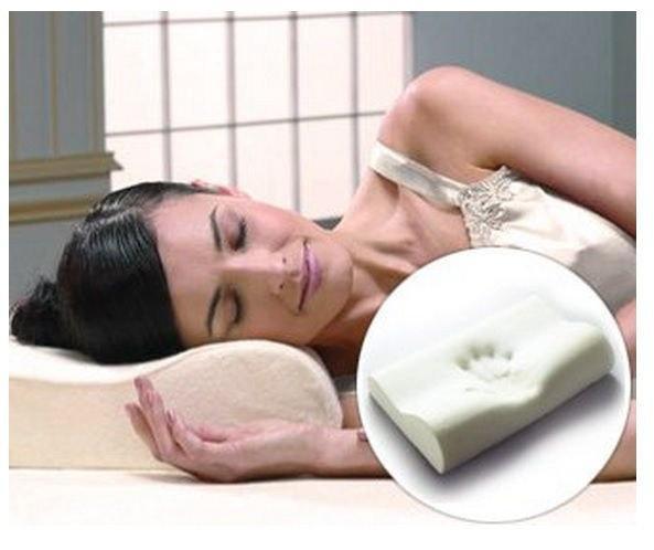 Ортопедическая подушка от головной боли с памятью Comfort Memory Foam Pillow (Комфорт Мемори Фом Пиллоу) v