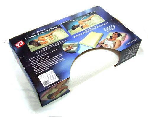 Ортопедическая подушка от головной боли с памятью Comfort Memory Foam Pillow (Комфорт Мемори Фом Пиллоу) v, фото 2