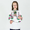 """Блузка з вишивкою """"Веселка"""" від 7 до 13 років, фото 4"""