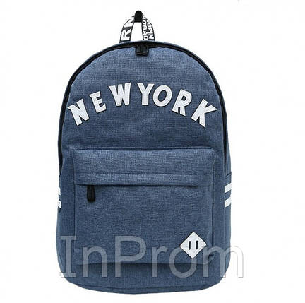 Рюкзак New York Dark Blue, фото 2