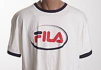 Fila футболка мужская  размер L  57 см ПОГ б/у