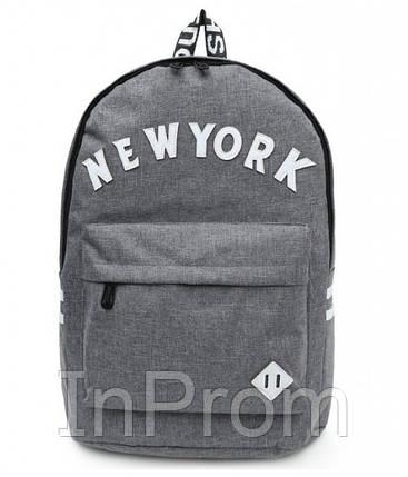 Рюкзак New York Gray, фото 2