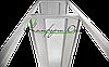 Стеллаж профессиональный НЖ 1100*400*1800  (каркас крашеный), фото 3