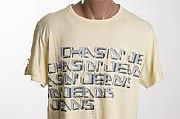 CHASIN футболка мужская  размер  M L   ПОГ 57 см  б/у