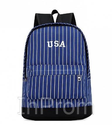 Рюкзак New York Usa Blue, фото 2