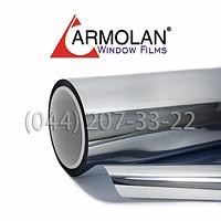 Зеркальная Silver 05 солнцезащитная плёнка для тонировки окон (1,524) (пм)