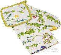 Набор кухонный Весна прихватка и полотенце