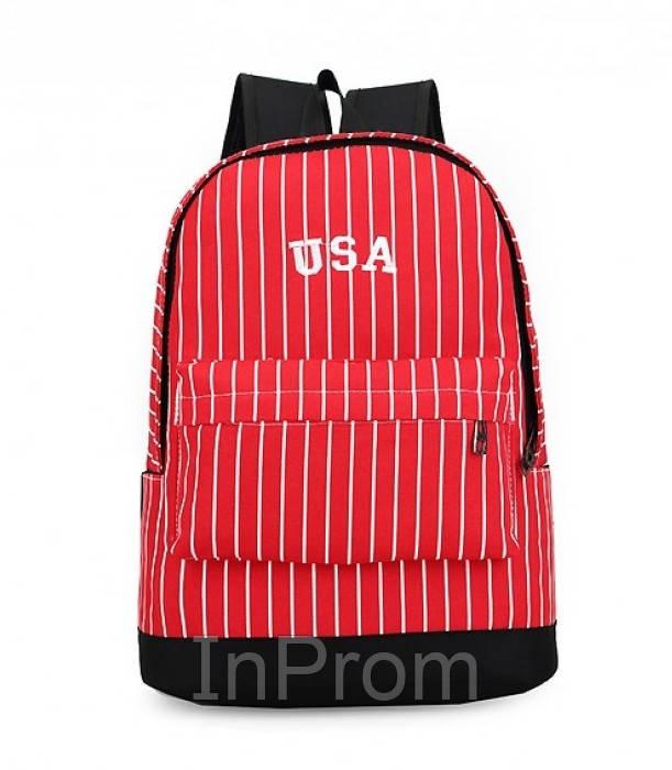 Рюкзак New York Usa Red