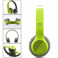 👉 New! Безпровідні Bluetooth навушники 👍 зелені
