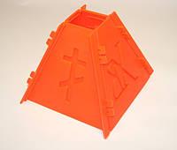 Пасочница пластик. Форма для творожной паски на 0.5 кг Материал - пищевой пластик (сертификаты качества и соот