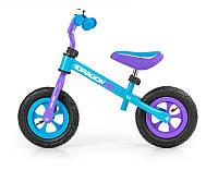 Детский беговел Milly Mally Dragon Air turquoise (AIR-04)