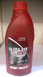 Масло моторное Favorit  Ultra XFE    5w-40  1л