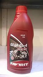 Масло трансмиссионное Favorit 80w-90  GL-4  1л