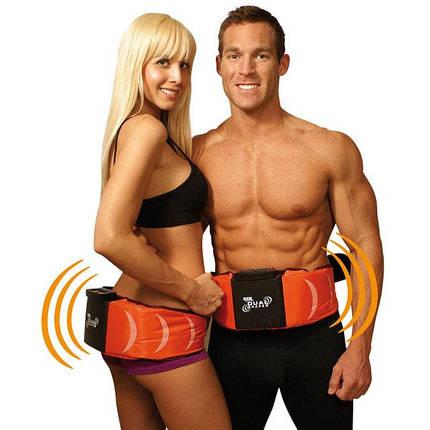 Вибрационный пояс для похудения электростимуляция Gymform Dual Shaper Джим Форм Дуал Шейпер , фото 2