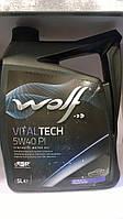 Масло моторное WOLF VITALTECH 5W40 PI  (W505.01)  5л