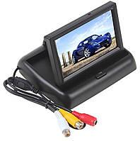 """Монитор в Авто Раскладной для камер Заднего/переднего вида. Выкидной 4.3"""" дюйма"""