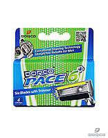 Dorco Pace 6 Plus сменные картриджи