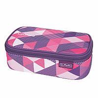 Пенал-бокс Herlitz Be.Bag BEAT Purple Checked (11410701)
