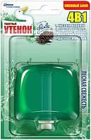 Подвесной очиститель для унитаза Туалетный утенок Лесная свежесть сменный балон 55 мл