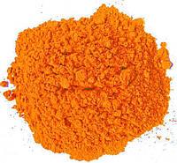 Фарба Холі (Гулал), Оранжева, фасуваня 100 грам, суха порошкова фарба для фествиалів, флешмобів, фото, фото 1
