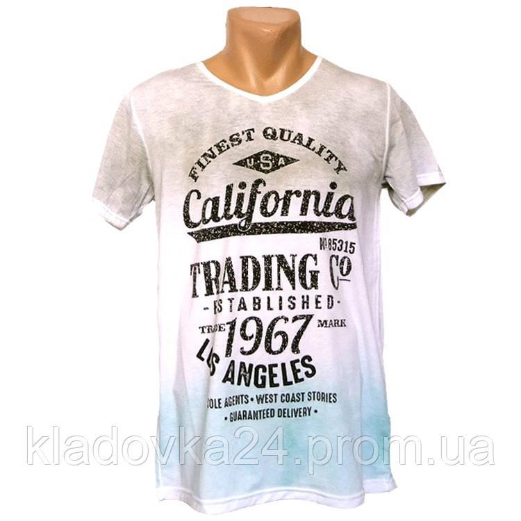 574b97c0f9a07 Прикольная мужская футболка California - №2246, Цвет разноцветный, Размер S  - Интернет-