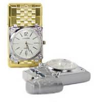 Подарочные зажигалка часы оптом