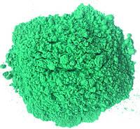 Фарба Холі (Гулал), Зелена, фасуваня 100 грам, суха порошкова фарба для фествиалів, флешмобів, фото, фото 1