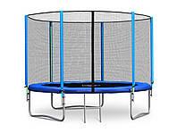 Батут с внешней сеткой для детей 252cm NEOSPORT+лестница