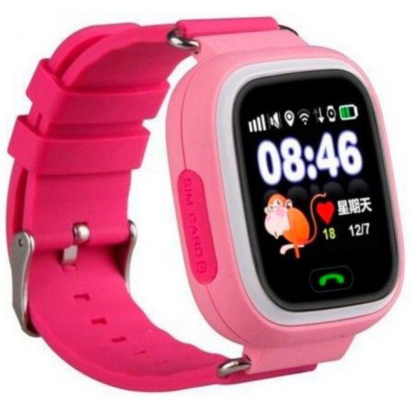 Детские Часы  Smart Baby Watch Q100 Розовые  Новинка