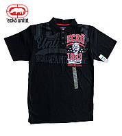 Ecko UNLTD. Рубашка поло мужская.Цвет черный. Размер L