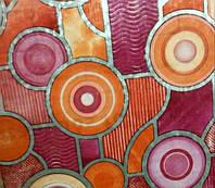 Самоклейка, яркая, разноцветная, витраж для стекол, GEKKOFIX, Голландія, 45 cm