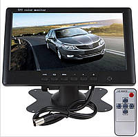 Монитор 7 дюймов в авто, для камеры заднего/переднего вида или просмотра Видео