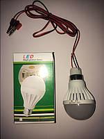 LED ЛЕД светодиодная лампа 5Вт 5W 12V 12В 6500К