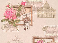 Обои на стену, виниловые, B43,4 Поэма С945-02, супер-мойка, 0.53*10м