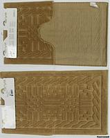 Набор ковриков для ванной 2шт Arya Berceste коричневый AR41