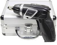 Аккумуляторная отвертка Титан ПАО 3.6 + комплект