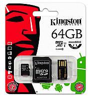 Карта пам'яті Kingston Micro SDXC 64 ГБ (MBLY10G2/64GB)