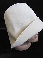 Банные шляпы из шерсти.