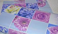 Обои, цветы, крупный рисунок, глубой, влагостойкие,бумажные,B56,4 Соцветие 8081-03, 0,53*10м